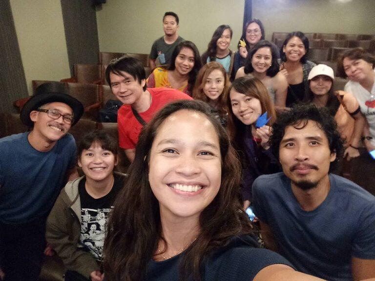 """Sakaling Hindi Makarating"" post-screening forum with Director Ice Idanan and actor, Pepe Herrera. (Jan. 22, '18)"