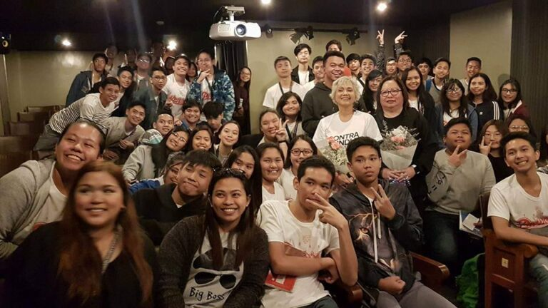 """Ang Larawan"" post-screening forum with cast and crew. (Jan. 27, '18)"