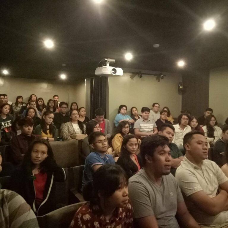 """Apocalypse Child"" post-screening forum with Director Mario Cornejo and actors, Sid Lucero and Annicka Dolonius. (Dec. 17, '17)"
