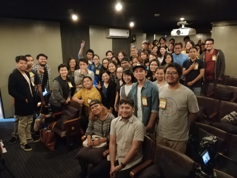 Cine-Sabi: Abante Babae (Lecture-Workshop on Filmmaking) with Dwein Baltazar on Directing. (Mar. 23, '18)