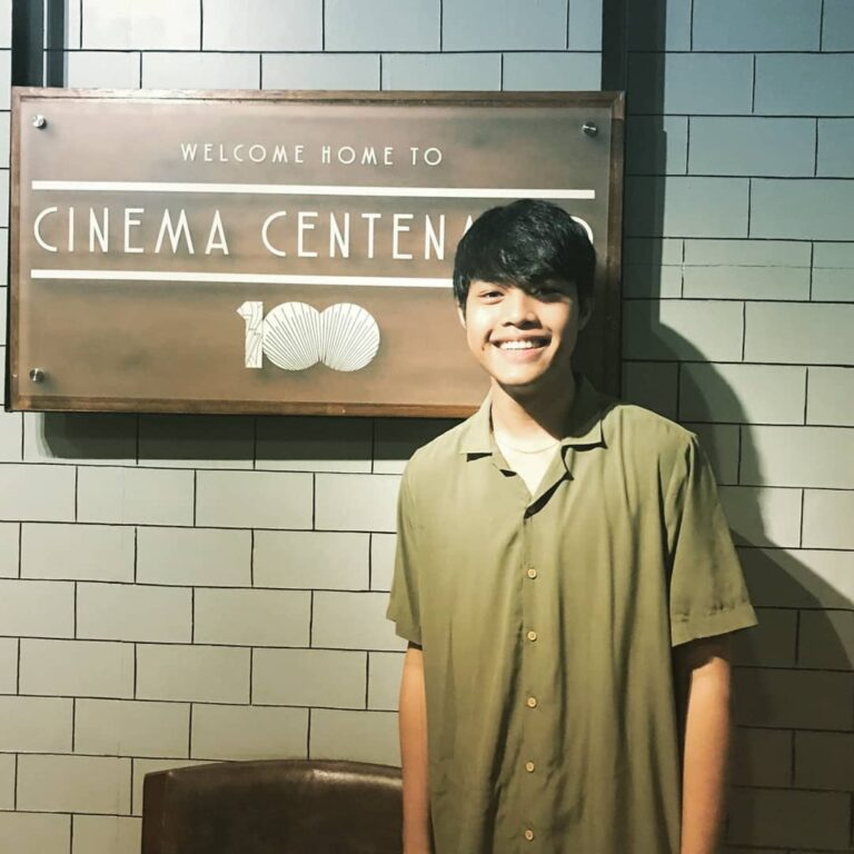"Elijah Canlas, lead actor on the film, ""Kalel, 15."" (Jan. 3, '20)"