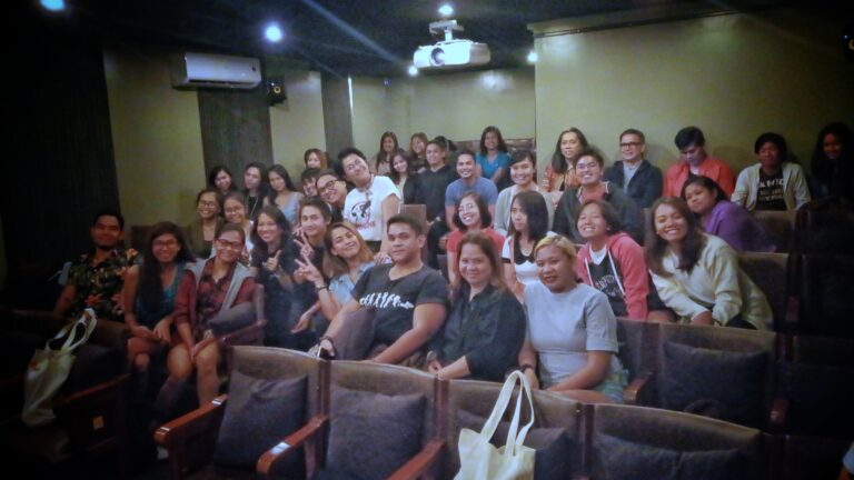 """Gusto Kita With All My Hypothalamus"" post-screening forum with the cast and crew. (Aug. 26, '18)"