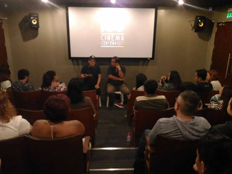 """Himpapawid"" post-screening forum with Director Raymon Red. (Dec. 7, '17)"