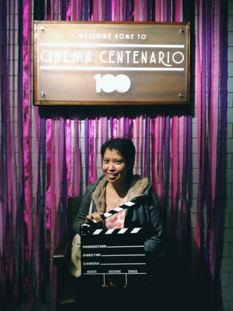 "Directore Irene Villamor after the ""Meet Me in St.Gallen post-screening. Mar. 20, '18)"