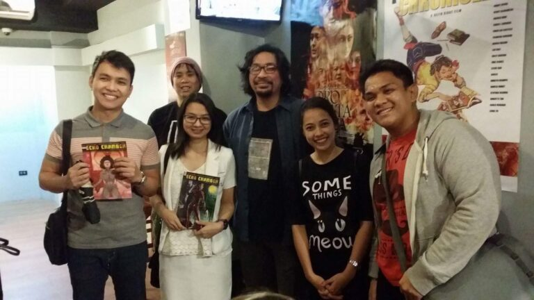 """Komikero Chronicles"" post-screening forum with the Director, Keith Sicat."