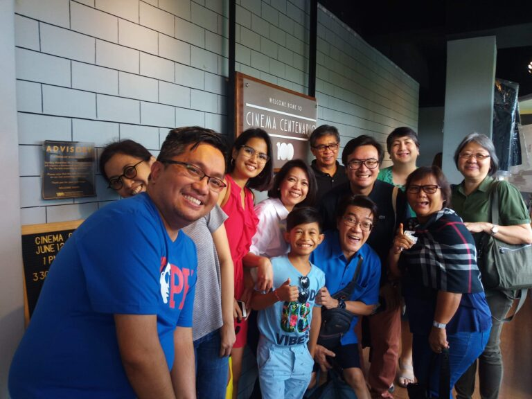 """Liway"" post-screening forum with the cast and crew. Special mention to former Chief justice Maria Lourdes Sereno who joined the audience. (Jun. 12, '19)"
