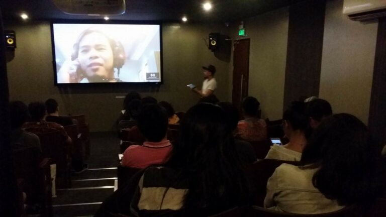 """Superpsychocebu"" post-screening forum with Director Christian Linaban. (Apr. 20, '18)"